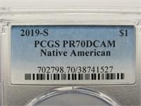 2019 - S Native American Dollar Coin