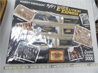 1997 Harley-Davidson HO Train set - limited editio
