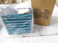 Miniature Snap-On Toolbox / jewelry box - Teal - M