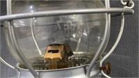 "10"" Handlan Lantern With Clear Adlake P R R Globe"