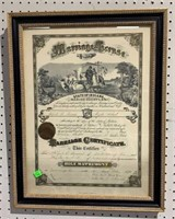 Antique Marriage Certificates And Photo Of