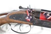 CAI 12 GA. DOUBLE BARREL SHOTGUN