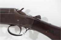 W.H. DAVENPORT 12 GA. SHOTGUN