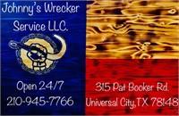 JOHNNY'S WRECKER 01-15-21