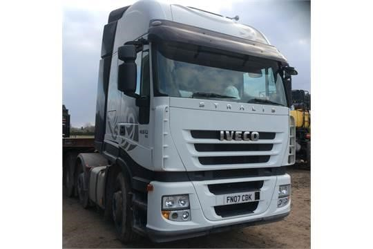 2007 IVECO STRALIS 450 at TruckLocator.ie
