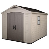 Factor 8' x 11' Plastic Outdoor Shed