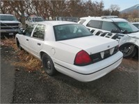 (DMV) 2000 Ford Crown Victoria Police Interceptor