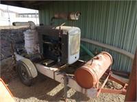 "Portable 4"" Ford Trash Pump"