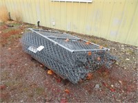 Assorted 5' Cyclone Fence & Gate
