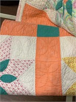 Hand Pieced Hand Quilted Quilt