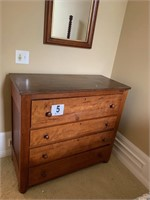 Antique Four Drawer Chest (US1)