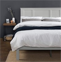 ZINUS Andrew Wood Bed Frame, King