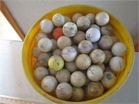 BUCKLE OF GOLFBALLS