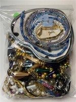 SAT NIGHT JEWELRY AUCTION MOSTLY COSTUME/ SS / SOME COINS