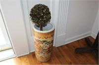 ORIENTAL UMBRELLA STAND, DECORATIVE PLANT