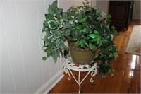 DECORATIVE PLANT, PLANTER, STAND