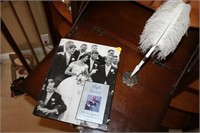 QUILL PEN AND HIGH SOCIETY BOOK