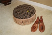 FOOT STOOL AND SHOE STETCHERS