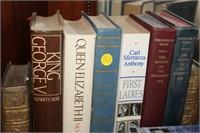 VARIOUS BOOKS, PRESIDENTS, KINGS, ETC.