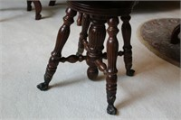 BALL AND CLAW CHAIR/SWIVEL STOOL