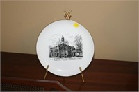 LINCOLN COUNTY COURTHOUSE COLLECTOR PLATE