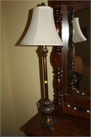 "PAIR OF 35"" TALL LAMPS"