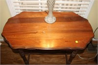"""ANTIQUE SIX LEG TABLE, 19x34x29"""""""