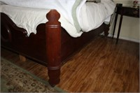 ANTIQUE FULL SIZE BED - FRAME ONLY -