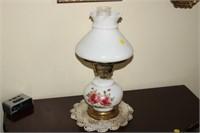 """VINTAGE LAMP, 16"""" TALL"""