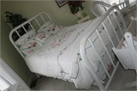 VINTAGE HEAVY METAL FULL BED - FRAME ONLY -