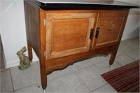ANTIQUE HOOSIER CABINET, 40x26x70""