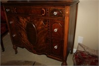 ANTIQUE CHEST OF DRAWERS, 38x19x68""