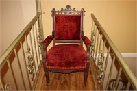 ANTIQUE EAST LAKE STYLE CHAIR