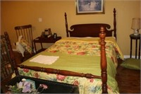 FULL SIZE BED - FRAME ONLY - BEDDING NOT INCLUDED