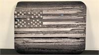 American Flag Kenneth Wiggins Plexiglass Print