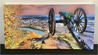 Lookout Point Over Chatt Kenneth Wiggins Print