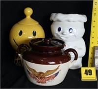 Online Auction - pottery & misc