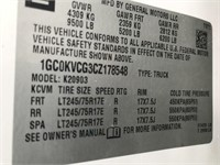 2012 Chevy 2500 4x4 Utility