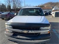 2002 Chevy Silverado 2500 4x4