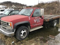 1991 Chevy 3500HD Flatbed