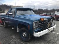 1980 Chevy Custom Deluxe 4x4