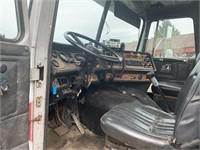 White GMC Truck Tractor