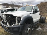 2015 Ford F450 Cab Chassis (Parts Only)