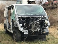 2019 Ford Transit T150 (Wrecked)