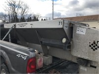 8' Stainless Steel Salt Spreader