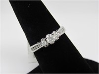 0.50 ct 10k White Gold Diamond Ring *Appraisal*
