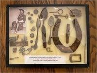 several relic displays