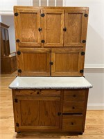 Antique Hoosier Cabinet with Flour Sifter