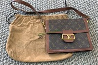 Marked Louis Vuitton pattern purse bag, marked
