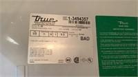 True 2 Door Rolling Refrigerator T-49